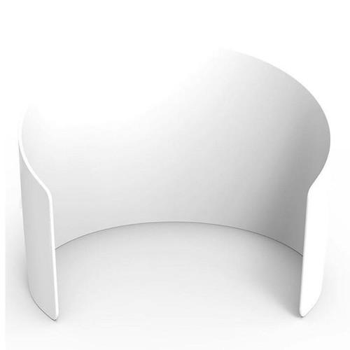 10ft Curved Enclosure - White | PB Backdrops