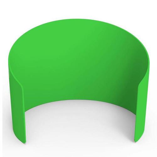 10ft Curved Enclosure - Green | PB Backdrops