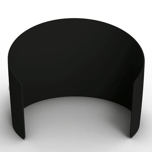 10ft Curved Enclosure - Black | PB Backdrops