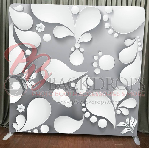 Single-sided Pillow Cover Backdrop  - 3D Paper | PB Backdrops