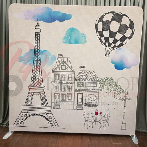 Single-sided Pillow Cover Backdrop  - Paris | PB Backdrops