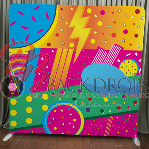 Single-sided Pillow Cover Backdrop  - abstract | PB Backdrops