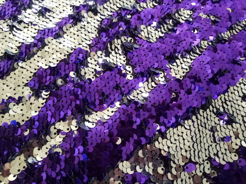 Mermaid Sequin - Amethyst | PB Backdrops