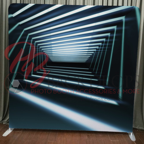 Single-sided Pillow Cover Backdrop  - Crazy Lights | PB Backdrops