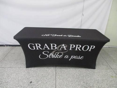 Table Cover 2 Pack Special (4,6 or 8ft)  Grab a Prop Strike a Pose stock design only