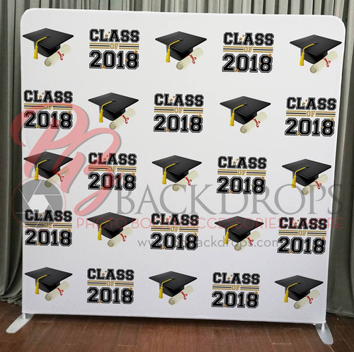 Single-sided Pillow Cover Backdrop  - Graduation | PB Backdrops
