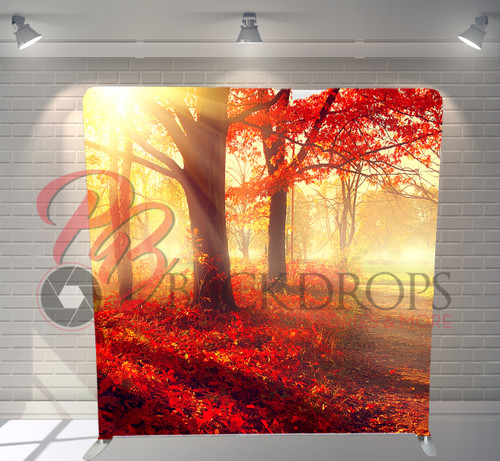 Single-sided Pillow Cover Backdrop  - Autumn Stroll | PB Backdrops