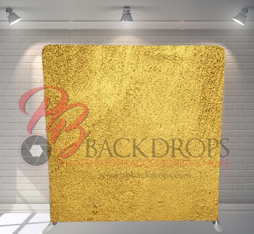 Single-sided Pillow Cover Backdrop  - Gold Foil | PB Backdrops