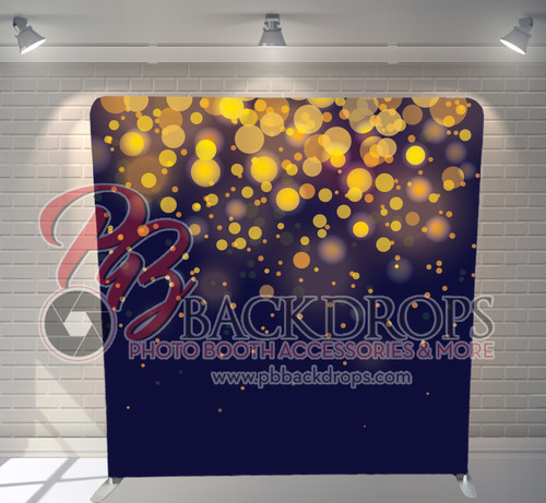 Single-sided Pillow Cover Backdrop  - Midnight Sparkle | PB Backdrops