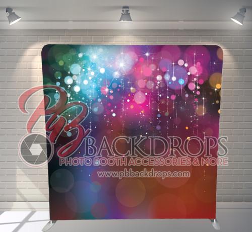 Single-sided Pillow Cover Backdrop  - Sparkling Bokeh | PB Backdrops