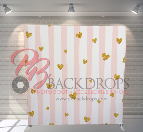 Single-sided Pillow Cover Backdrop  - Sweetheart | PB Backdrops