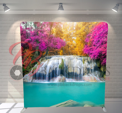 Single-sided Pillow Cover Backdrop  - Waterfall | PB Backdrops