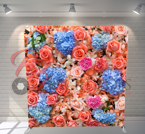 Single-sided Pillow Cover Backdrop  - Wedding Bouquet | PB Backdrops