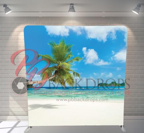 Single-sided Pillow Cover Backdrop  - Tropical Paradise | PB Backdrops
