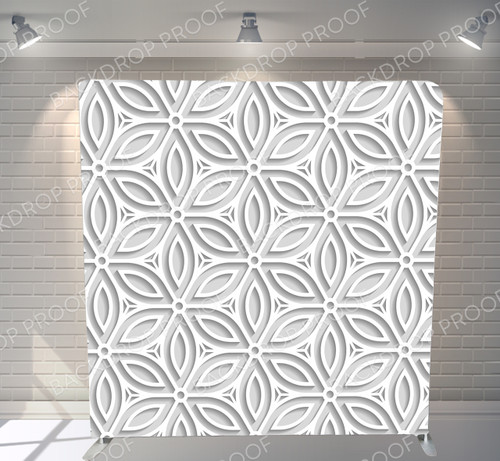 Single-sided Pillow Cover Backdrop  - 3D Flower Petals | PB Backdrops