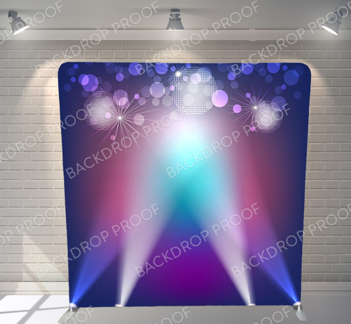 Single-sided Pillow Cover Backdrop  - Born To Shine | PB Backdrops