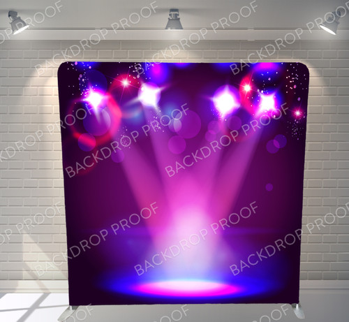 Single-sided Pillow Cover Backdrop  - Concert Lights | PB Backdrops