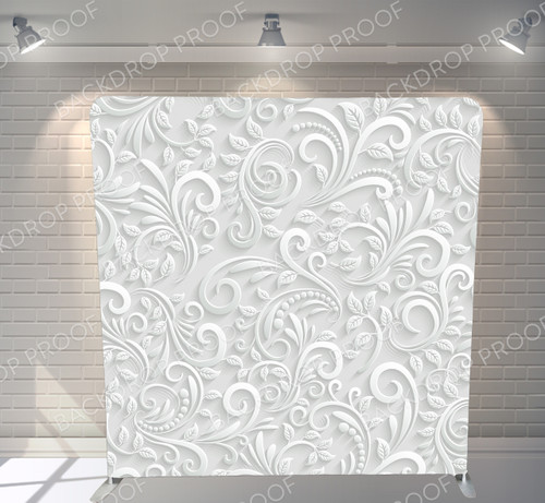 Single-sided Pillow Cover Backdrop  - Floral Pattern | PB Backdrops