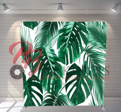 Single-sided Pillow Cover Backdrop  - Palm Branches | PB Backdrops