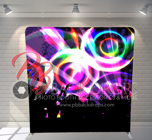 Single-sided Pillow Cover Backdrop  - Party Nights   PB Backdrops