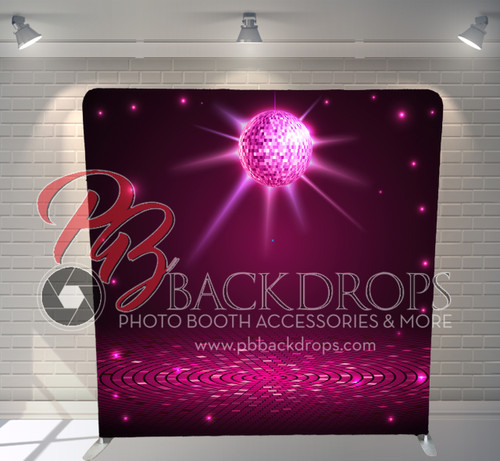 Single-sided Pillow Cover Backdrop  - Saturday Night Disco | PB Backdrops