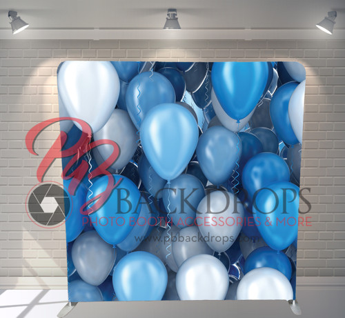 Single-sided Pillow Cover Backdrop  - Lost In Balloons   PB Backdrops
