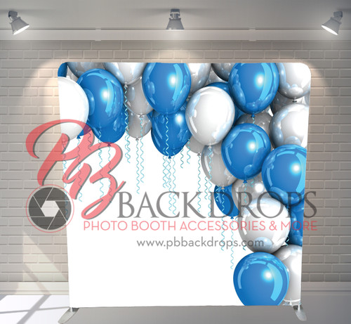 Single-sided Pillow Cover Backdrop  - Shiny Balloons | PB Backdrops