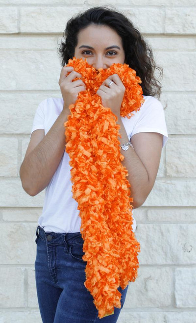 Original Featherless Boa (Orange)