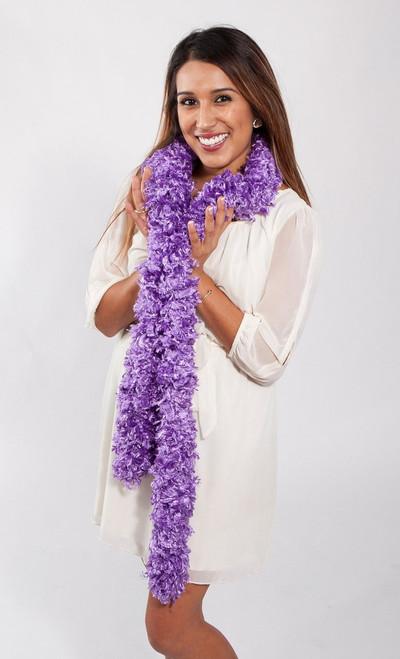 Original Featherless Boa - Purple | PB Backdrops