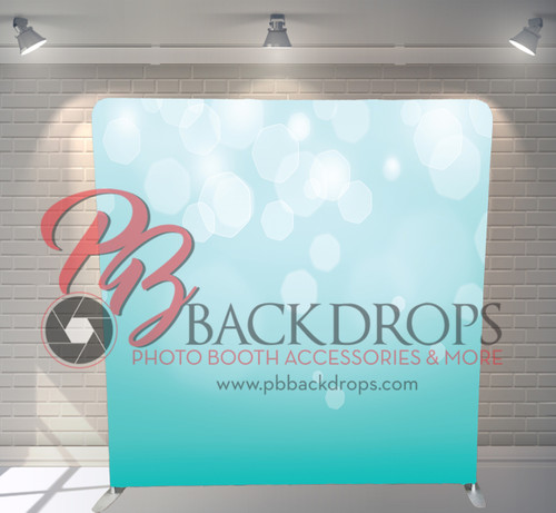 Single-sided Pillow Cover Backdrop  - Tiffany Bokeh | PB Backdrops