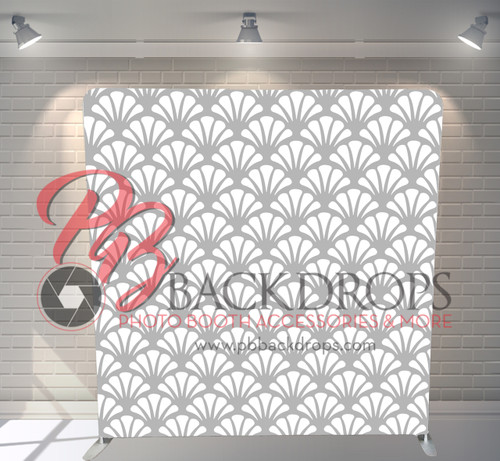 Single-sided Pillow Cover Backdrop  - Pearly Shells   PB Backdrops