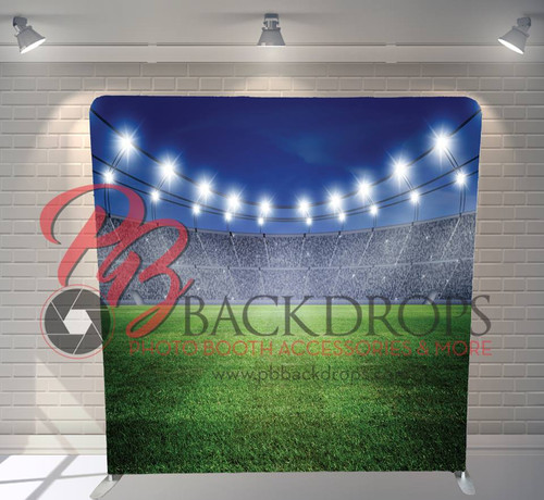 Single-sided Pillow Cover Backdrop  - Friday Night Lights | PB Backdrops