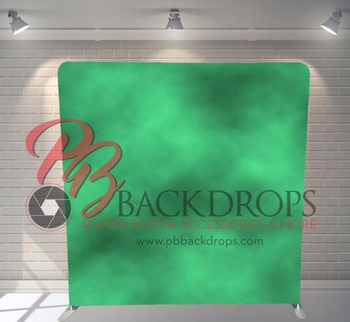 Single-sided Pillow Cover Backdrop  - Green Portrait | PB Backdrops