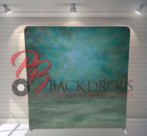Single-sided Pillow Cover Backdrop  - Ocean Green Portrait | PB Backdrops