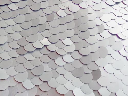 Silver Sequin - 18mm | PB Backdrops