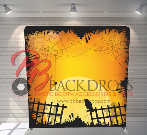 Single-sided Pillow Cover Backdrop  - Enter if you Dare | PB Backdrops