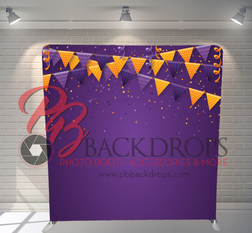 Single-sided Pillow Cover Backdrop  - Halloween Party | PB Backdrops