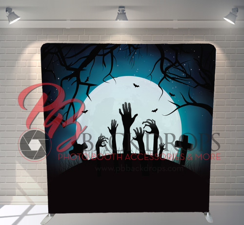 Single-sided Pillow Cover Backdrop  - Zombie Hands | PB Backdrops