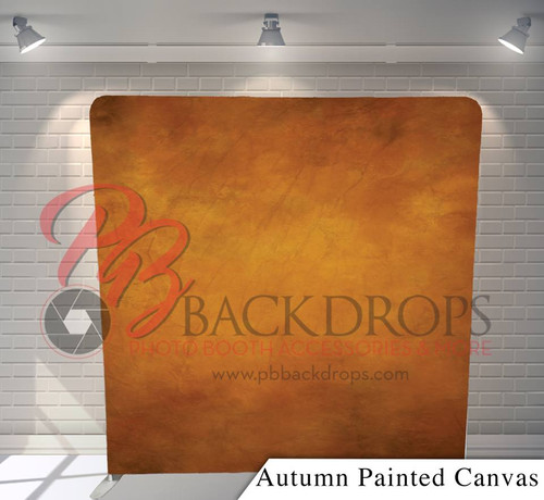 Single-sided Pillow Cover Backdrop  - Autumn Painted Canvas | PB Backdrops
