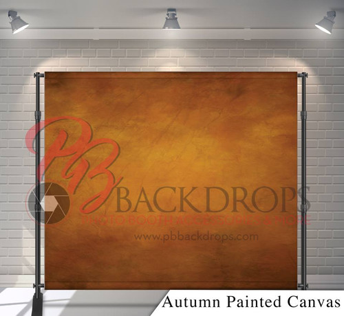 8x8 Printed Tension fabric backdrop - Autumn Painted Canvas | PB Backdrops