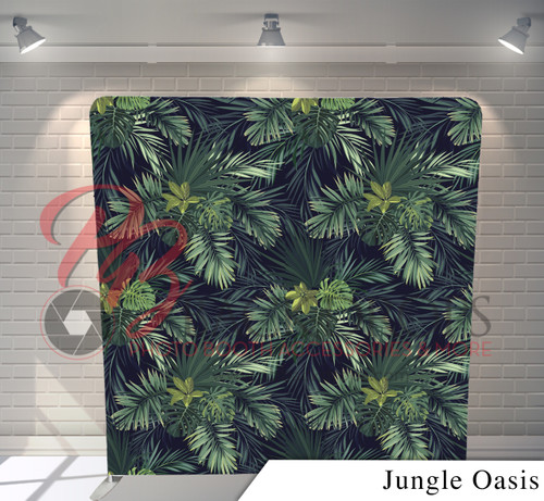 Single-sided Pillow Cover Backdrop  - Jungle Oasis | PB Backdrops