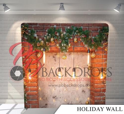 Single-sided Pillow Cover Backdrop  - Holiday Wall | PB Backdrops