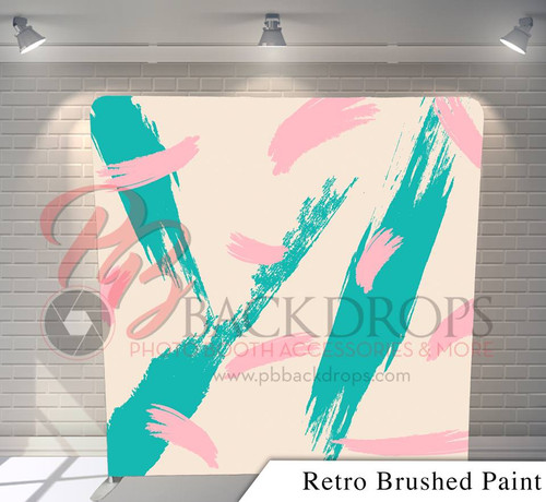 Single-sided Pillow Cover Backdrop  - Retro Brushed Paint   PB Backdrops