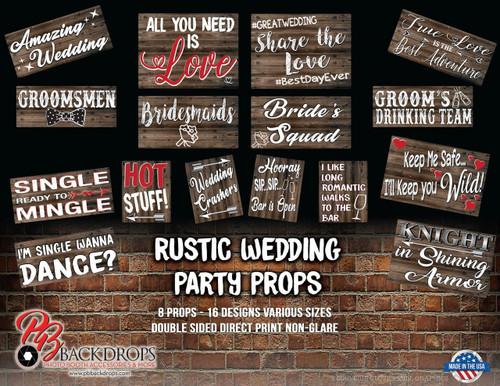 Rustic Wedding Party Bundle