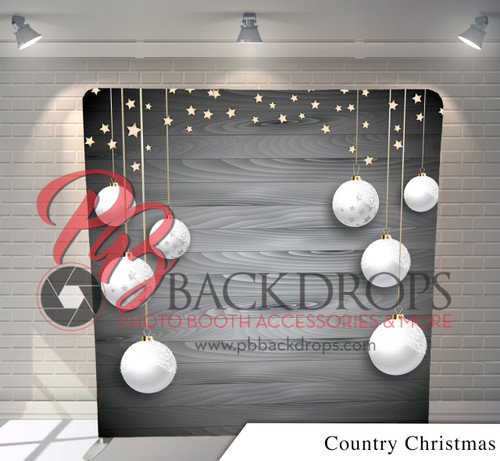 Single-sided Pillow Cover Backdrop  (Country Christmas)