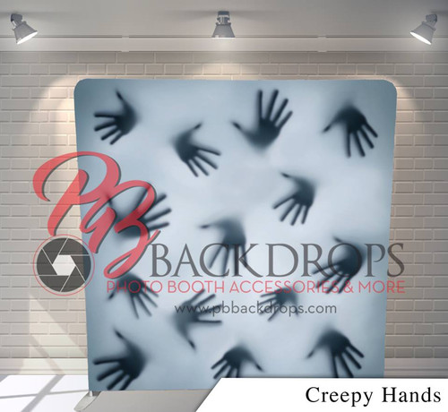 Single-sided Pillow Cover Backdrop  (Creepy Hands)