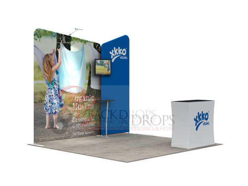 Trade Show Display, Booth #4, 3m x 3m