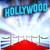 8x8 Printed Tension fabric backdrop - Hollywood Theme   PB Backdrops