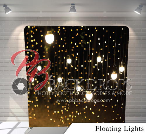 Single Sided Pillow Cover Backdrop Floating Lights Pb