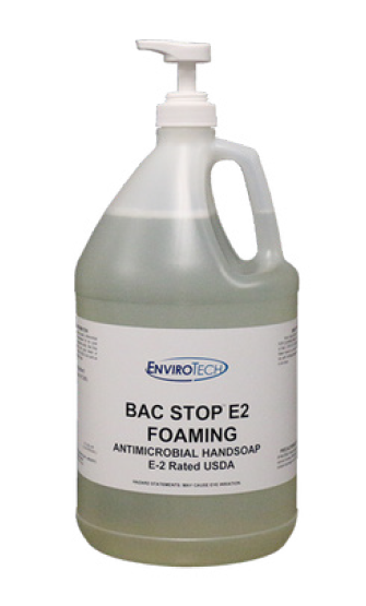 Bac Stop E2 Foaming Antimicrobial Hand Soap